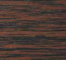 Кассетные горизонтальные жалюзи KS-25 для пластиковых окон ПВХ. Цвет Темный дуб