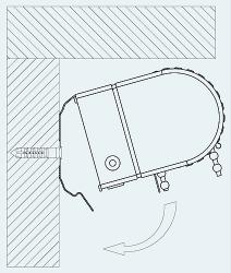 Рулонные шторы Стандарт NEW. Монтаж